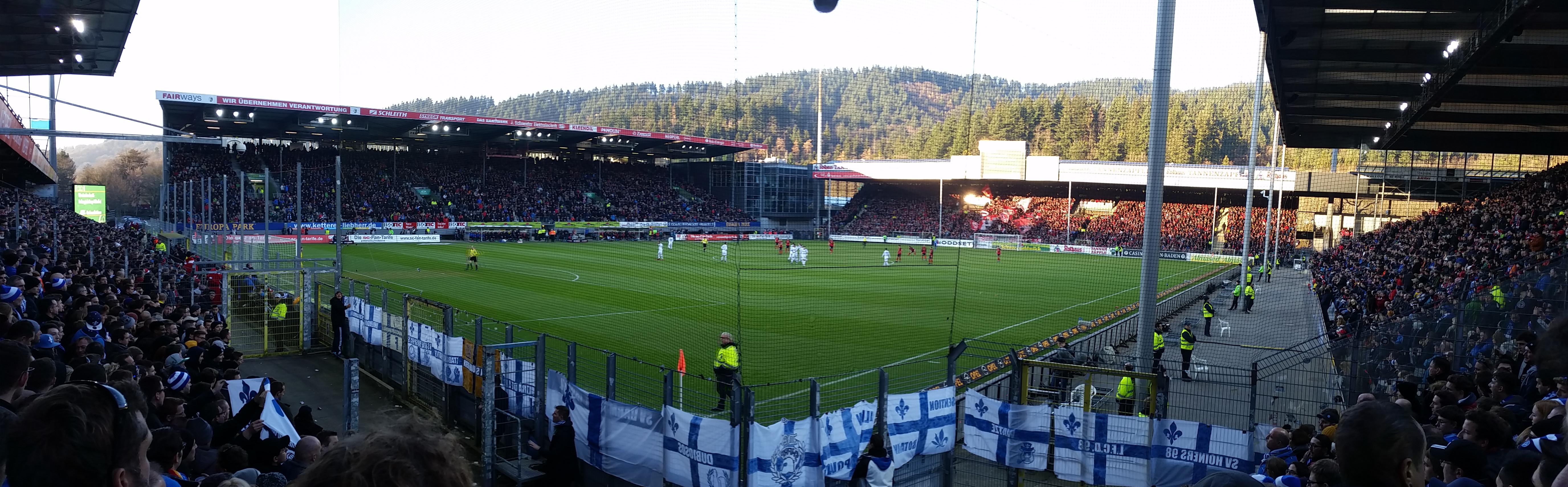 SC Freiburg vs Darmstadt 98 - 10.12.2016